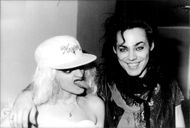 Nina Hagen with Doggie Daddlexo