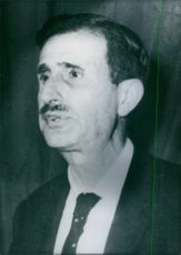 Portrait of Lebanese Politician Kamal Jumblatt, 1967.