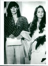 Linda Gray and Mary Crosby
