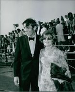 Leonard Nimoy and his wife Sandra. Leonard nimoy is the star of the popular television series