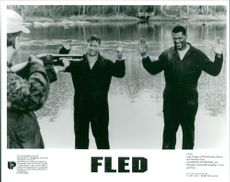 A scene from the film Fled.