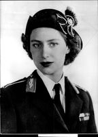 Prinsessan Margaret Rose Windsor i uniform