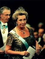 Princess Christina at the Nobel Prize ceremony at the Concert Hall