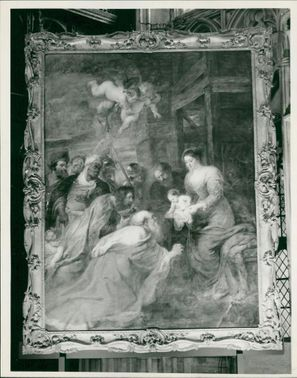 Sir Peter Paul Rubens: at kings collage cambridge.
