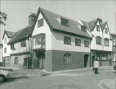 St. Miles Alley with Markston House