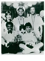 """The crew of the """"Love Boat"""""""