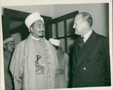 Muhammad al-Badr and Lord Gosford