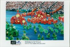The opening of the Olympic Games in Atlanta
