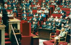 Bill Clinton talar vid French National Assembly