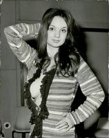 Portrait image of Christina Lindberg taken in an unknown context.