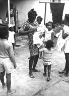 Red Cross aid in Angola