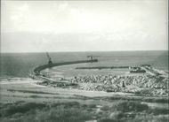 Israel Views of: The unfinished main breakwater
