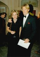 Portrait image of Dolph Lundgren and his wife Anette taken in an unknown context.