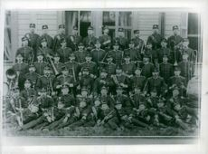 The military music troops 180 men