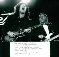 Gary Moore and Andy Pyle with The Midnight Blues Band perform at the jazz festival in Montreal