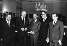 Nordic minister meetings 1954-1971