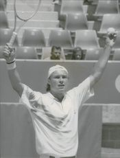 Tennis player Jan Gunnarsson