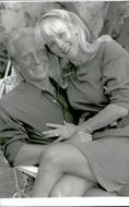 Portrait image of Michael and Anna Bergman taken in an unknown context.