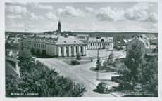 Postcard of the New Strängnäs Learning Agency.