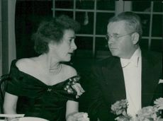 Mrs. Cori, in co-operation with American ambassador Matthews during the Nobel