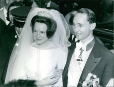 Carlos Hugo, Duke of Parma and Princess Irene of the Netherlands's wedding.