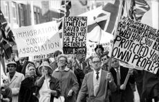 Four hundred protesters participated in the demonstration train through London.