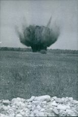An explosion. May 11, 1966.