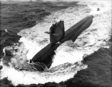 """The French nuclear submarine """"Rubis"""" takes its first dive"""