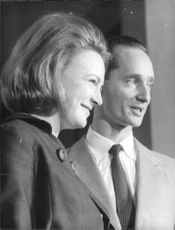 Portrait of Princess Irene and Carlos Hugo, 1964.