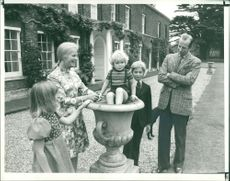 Duke and Duchess of Kent with their children at Anmer Hall