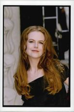 "Nicole Kidman at the premiere of ""Eyes Wide Shut""."
