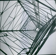 Low angle view of a built structure.