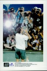Pete Sampras celebrates his first Grand Slam tournament by winning the US Open.
