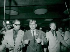 Olof Palme during the election week