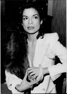 Bianca Jagger is in the process of being in the movies for the first time