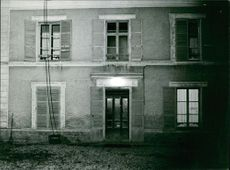 Exterior photo of Lopez Villa.  Taken - Feb. 1966