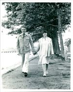 Philip Short and wife.