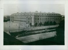 The Gothenburg General Post Office, 1925.
