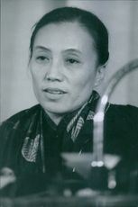 Nguyễn Thị Bình  Vietnamese communist leader who negotiated at the Paris Peace Conference on behalf of the Viet Cong.