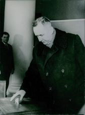 Alexei Kosygin cast his vote.