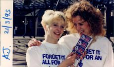 Lisa Gostling and Wendy Perry Scratch Cards.
