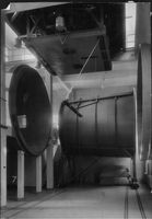 Wind tunnel of the Aeronautical Research Institute, which measures 3.6 meters in diameter.