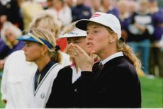 Golf player Helen Alfredsson
