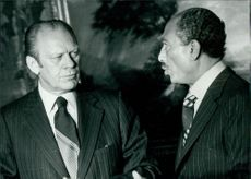 Jerry Ford and Sadat