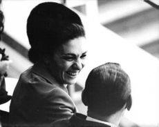 Princess Soraya with her son.