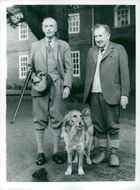British Prime Minister Sir Alec Douglas-Home visits Wilfred Hill-Wood in Much Hadham