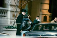 Sylvester Stallone in New York with mysterious young woman