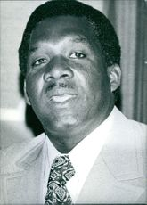 A photo of Lynden Pindling - Caribbean Politician.