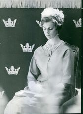 Photograph of Princess Margaretha, Mrs. Ambler, (born 31 October 1934) is a Swedish princess, the eldest sister of King Carl XVI Gustaf of Sweden and also first cousin of Queen Margrethe II of Denmark.