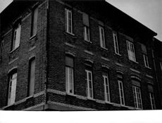 Photograph of a building.